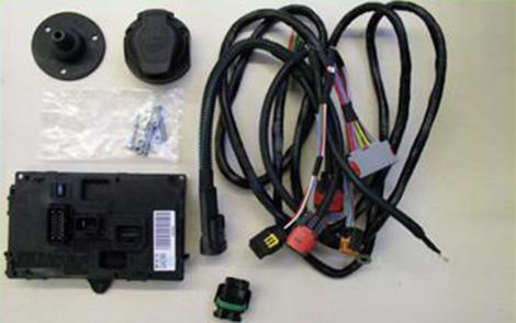 kabelsatz 13 polig f r anh ngerkupplung transport tr gersysteme. Black Bedroom Furniture Sets. Home Design Ideas